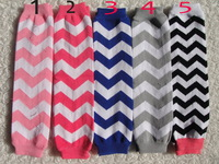 chevron cotton legwarmers for babies toddlers winter warm socks mix colors 1 pair free shipping mini$10
