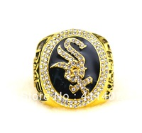 free shipping 18K Gold 2005 Chicago White Sox Championship World Series Ring(cring0063)