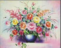 Ai Gerui stitch craft drill vase painting decorative painting DIY wholesale diamond drill painter painting genuine diamond embro(China (Mainland))