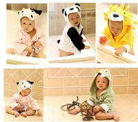 Retail selling 2014 The new style baby bathrobe , modeling package is , pajamas