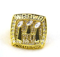 Free Shipping !replica New York Giants 2008 Super Bowl XLII Football World Series Championship Ring as gift