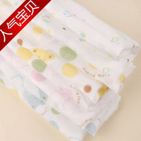 High-density 29 * 29 newborns cotton double gauze handkerchief bath towel bibs scarf
