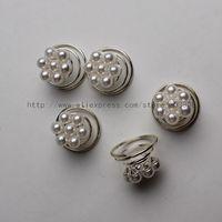 (12 Pcs) Silver Bridal Diamante Crystal Butterfly Hair Twists Swirls Coils Spirals Pins