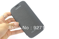 10pcs/Lot For Samsung Galaxy S3 SIII 9300 i9300 Original Flip Leather Back Cover Cases Battery Housing Case Free Shipping