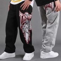 DF-07 Hip hop pants men Loose Sports Autumn winter Outdoors sport Sweatpants Mens joggers Jogging Men trousers Sweat pants