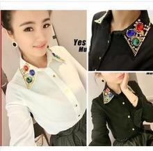 black beaded blouse promotion