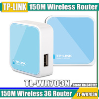 free shipping 150M Wireless 3G Router WR703N Portable Mini Router