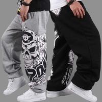 DF-04 Jogger Men basketball pants hip hop pants Sports Casual pants Personality Loose Street  Plus size outdoors sweatpants