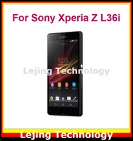 L36i clear Screen Protector For Sony Xperia Z L36i L36h without Retail Package 50films+50cloths Free Shipping