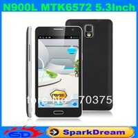 N900L Phone With MTK6572 Android 4.2 Dual Core WiFi FM 5.3 Inch Capacitive Screen Smart Phone