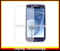 S3 I9300 Free Shipping clear Screen Protector for Samsung Galaxy S3 i9300 NO Retail Package (50pcs film+50pcs cloth)