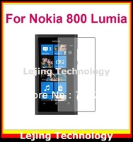 Lumia800 clear Screen Protector For Nokia Lumia 800 with Retail Packag 10films+10cloths Free Shipping