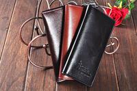 100% Genuine Leather ! Men's Wallet Genuine Leather Short Design Multifunctional Cowhide Wallet Commercial Gift Wallet Purses