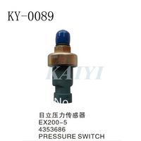 Excavator parts KY-0089 Hitachi pressure sensors  EX200-5  pressure sensors  Hitachi pressure switches   free shipping