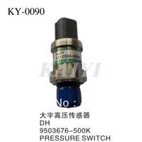 Daewoo excavator parts KY-0090 Daewoo  high pressure sensor DH9503676-500K Daewoo pressure sensors free shipping