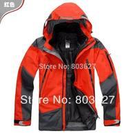 2014 New Mens winter Waterproof Windproof Breathable Jacket Famous Brand Name Windbreaker Outdoor Hunting Hiking Wear