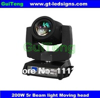 4Pcs/Lot Free Shipping 5R zoom 200W Beam moving head light lite/DJ Bar Disco Club Christmas LED Stage Lights,DMX512 16CH