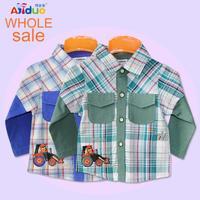 FREE SHIPPING!! wholesale 2013 newest design kids fashion long-sleeve T-shirts 6Pcs/lot 100%cotton baby boys fashion clothes