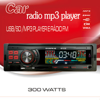 High power 2014 New Products Car Radio FM MP3 player with USB SD slot Remote control Support AUX audio input 1 DIN
