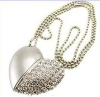 full capacity! 2GB 4GB 8GB USB 2.0 Jewelry Heart USB Flash Drive, Heart Pen Driver,free shipping