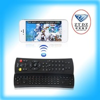Freey Shipping!!! universal TV remote with bluetooth keyboard for IOS and Android and TV PG-IP126