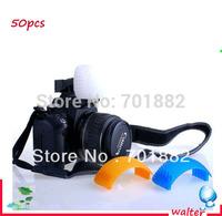 50pcs Lot Flash Diffuser Soft Box Diffuser for Internal Flash Canon Nikon