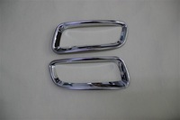 Chrome rear tail fog lamp cover fit for KOLEOS 2009-2014 2pcs per set