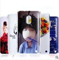 Wholesale / retail For Nokia 620 case mobile phone shell painted exquisite designs FreeShipping