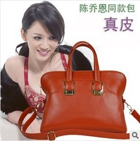 2014 Euro Fashion Genuine Leather Handbag for Women Totes Messenger Satchel Purse/Fashion Ladies Shoulder Bag 5Colors