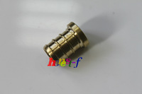 "Pack of 10 New 3/8"" PEX Plugs ( Lead Free), Brass Crimp PEX Fitting"