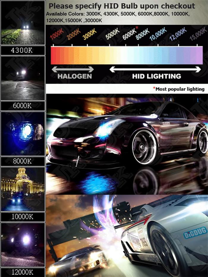 Super Slim Ballast Xenon HID Conversion Kit Car Light Sourcing 12V 55W H16 5202 PSX24W 9012 HIR2 PSX26W Tractor Atv(China (Mainland))