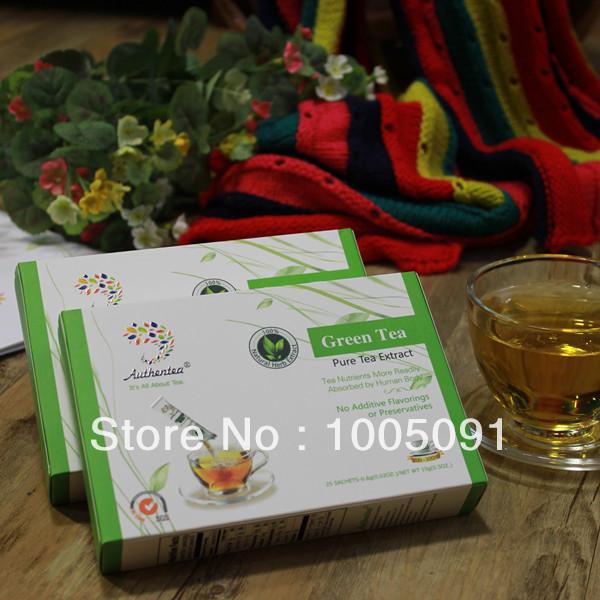 Sale! 100% Natural Organic Green Powder Slimming Tea Weight Loss Products Free Shipping The Tea Power 25 Sachets/Bag(China (Mainland))