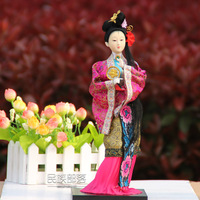 Home Decorations Dream of the Red Chamber Twelve beauties of Jinling Qin Keqing Silk-Figure handicrafts Free shipping