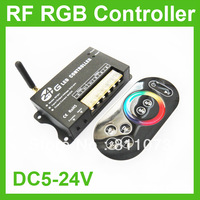 DC5V - 24V Touch Screen Wireless 2.4G RF LED RGB  Controller For Strip Light