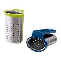 2 pieces/pack stainless steel tea infusers, tea strainers.