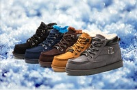 Men's Sneakers Shoes Winter Snow Boots For Man Warmness High-Top Winter Boots Sneakers