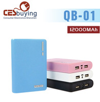 QB-01 OEM Mini Hot  Wholesale Ultra Strong Compatibility special Power Bank Almighty Compatible Mobile  Supply Durable 12000MAh