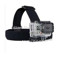 Elastic Adjustable Head Strap Mount Belt For GoPro GO PRO HD Hero 1/2/3 Cameras Free Shipping