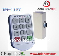 LED indicate keypad keyless electronic Gym cabinet locks (DH-112Y)