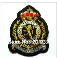 new 100 pcs/lot  factory price  DIY Badges embroidery fabric sticker subsidies  applique embroidery patch for t sirt bag coat
