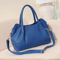 DHL  Women Cowhide leather Genuine leather pure color shoulder bag body across message bag femenino bolsas bolsos sac