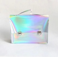 New design laser handbag envelope clutch bag laser women's shoulder bag laser totes bag message bag