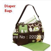 High quality Retail Fashion 2013 Multifunctional Nappy Mummy Bag Maternity Handbag Diaper Bags baby Tote Organizer hot sale