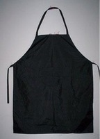 Artificial leather waterproof umbrella cloth aprons plastic apron kitchen apron nylon cloth apron white black