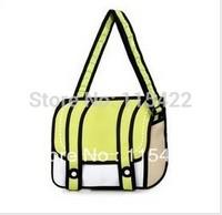 new arrival women and men 2d 3d cartoon gismo messenger bag canvas shoulder bag free shipping