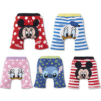 Lovely cartoon pp pants/5 designs baby pants/New arrived baby clothes