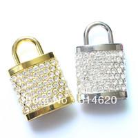 Cute Jewelry lock usb flash drive 4GB 8GB 16GB 32GB 64GB USB pen drive Free shipping