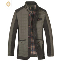 2013 male cotton-padded jacket male wadded jacket outerwear short design plus size winter thickening