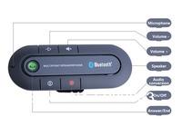 Bluetooth Car Kit Speakerphone Visor Multipoint Wireless Handsfree Loudspeaker