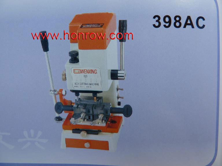 High quality wenxing Model 398AC key cutting machine with vertical cutter car key machine(China (Mainland))